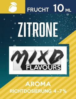 Mixd Flavours Zitrone